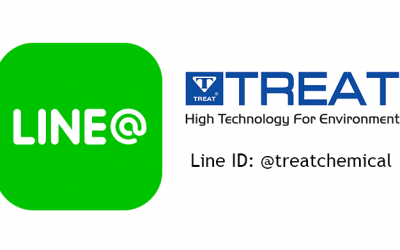 Now you can contact us using Line @treatchemical