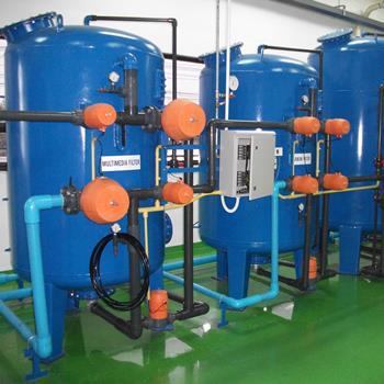 ระบบ Softener สำหรับอุตสาหกรรมขนาดใหญ่